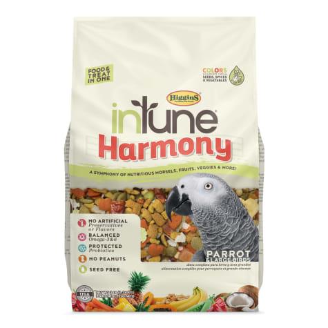 Higgins inTune Harmony Fruit Extruded Parrot Bird Food