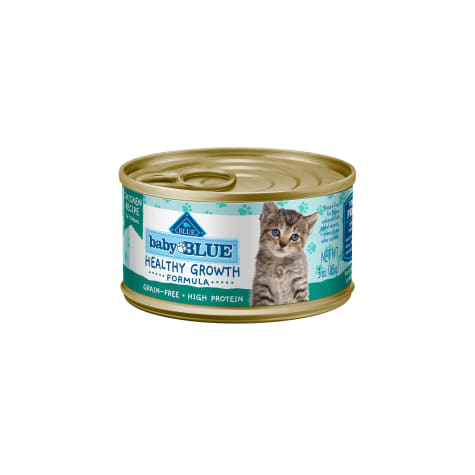 Blue Buffalo Baby Blue Healthy Growth Formula Natural Grain Free Chicken Recipe Kitten Pate Wet Food