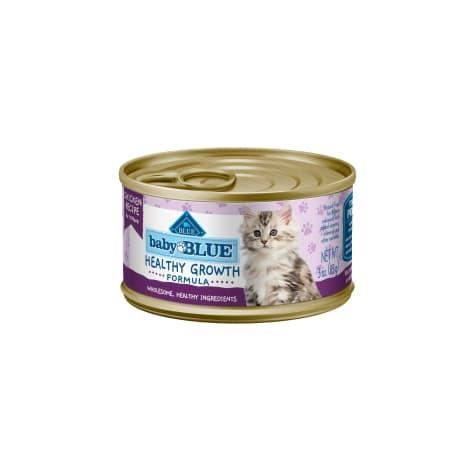 Blue Buffalo Baby Blue Healthy Growth Formula Natural Chicken Recipe Kitten Pate Wet Food