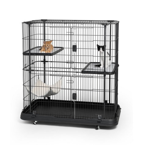 Prevue Pet Products 7501 Deluxe 3 Level Cat Home