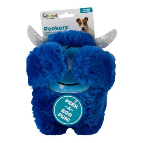 Outward Hound Peekerz Mystical Monster Blue Dog Toys