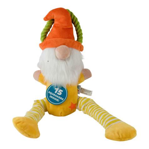 Outward Hound Boomerz Leggyz Gnome Yellow Dog Toys