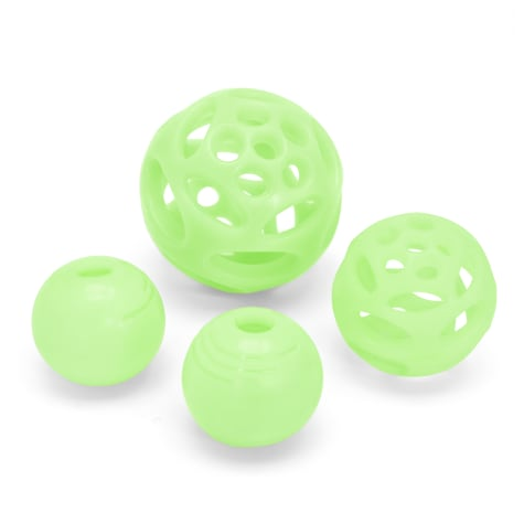 Chew King Glow Ball Combo Pack Dog Toy