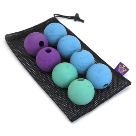 Chew King Rubber Ball Value Pack Dog Toy