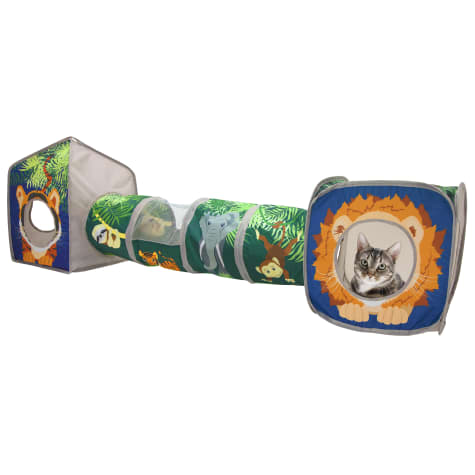 Kitty City Jungle Collapsible Play Combo for Cats