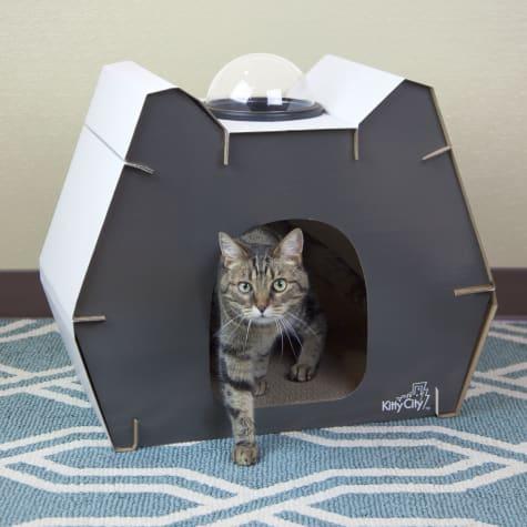 Kitty City Cat Head Dome Scratcher