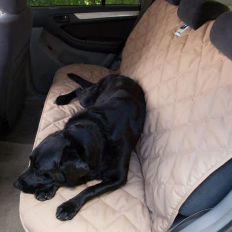 3 Dog No Slip Tan Seat Protector