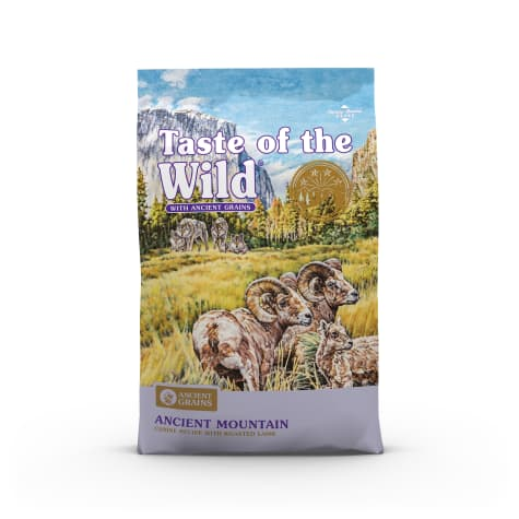 Taste of the Wild Ancient Mountain with Roasted Lamb and Ancient Grains Dry Dog Food