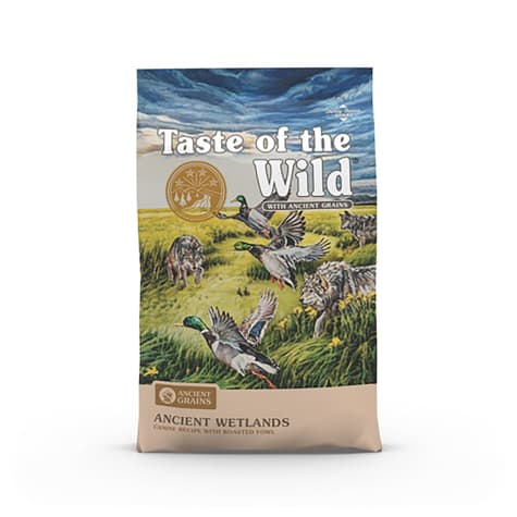 Taste of the Wild Ancient Wetlands with Roasted Fowl and Ancient Grains Dry Dog Food