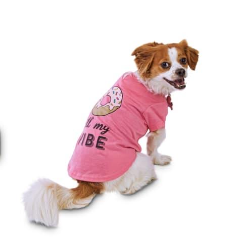 Bond & Co. Donut Kill My Vibe Jersey Dog T-Shirt