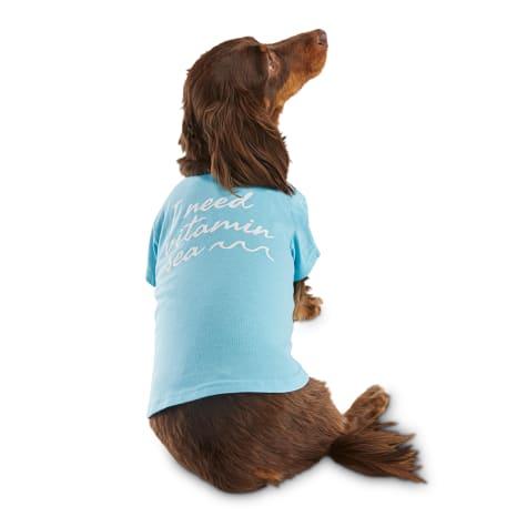 Bond & Co. I Need Vitamin Sea Mermaid Dog T-Shirt