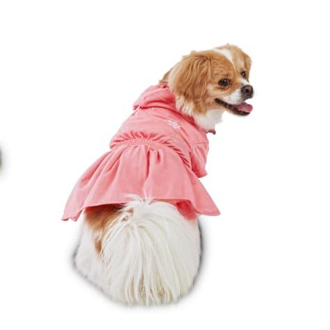 Bond & Co. Coral Highness Mermaid Hooded Dog Dress