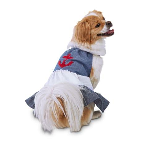 Bond & Co. Sweet Sailor Nautical Dog Dress