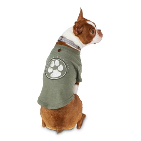 Reddy Olive Make Your Own Path Jersey Crewneck Dog T-Shirt