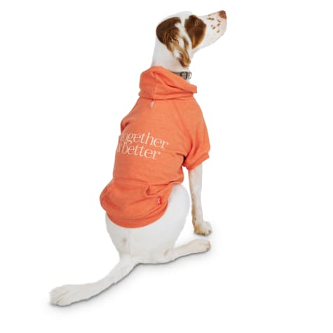 Reddy Orange Together Is Better French Terry Hoodie
