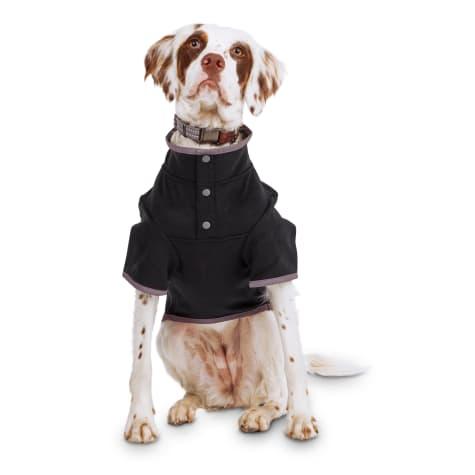 Reddy Black Stretch Fleece Dog Jacket