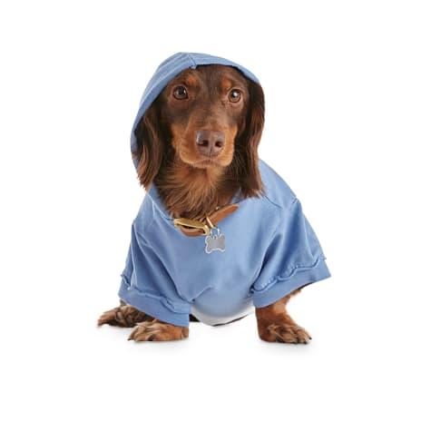 Bond & Co. Blue Dip-Dye Dog Hoodie
