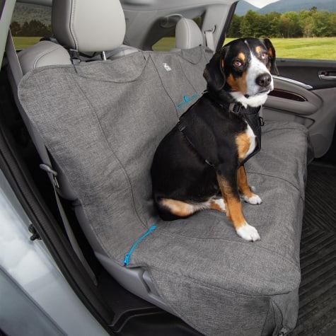 Kurgo Heather No Slip Grip Bench Seat Cover for Dog