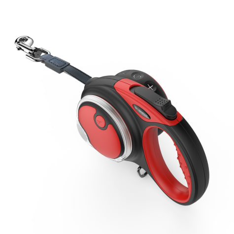 Dogness Smart Retractable Red Leash Boxed Set