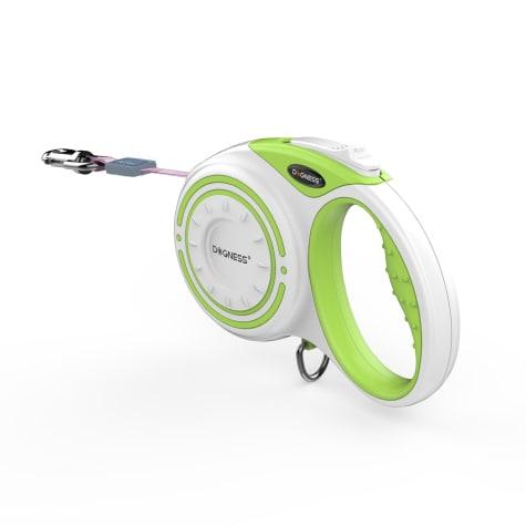 Dogness Smart Retractable Green Leash