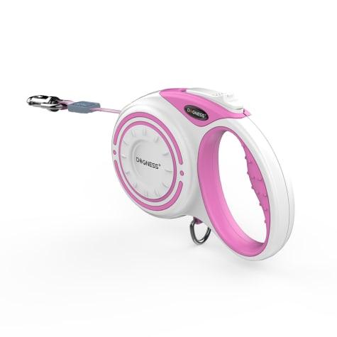 Dogness Smart Retractable Pink Leash