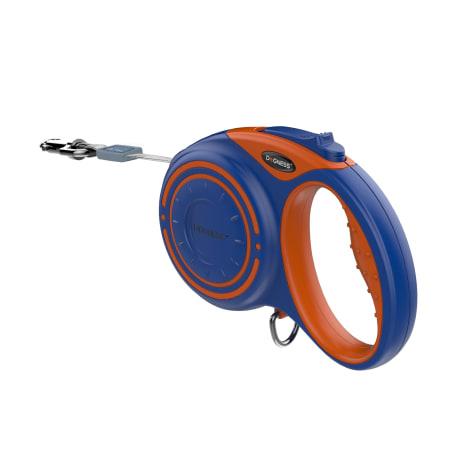 Dogness Smart Retractable Blue Leash