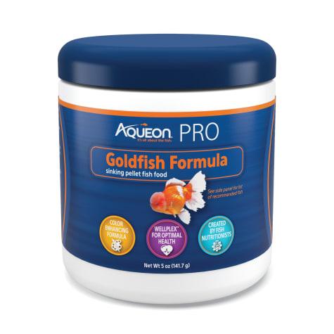 Aqueon Pro Goldfish Formula Fish Food Pellet