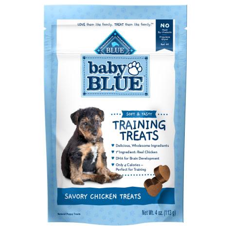 Blue Buffalo Baby Blue Natural Soft Training Savory Chicken Puppy Treats