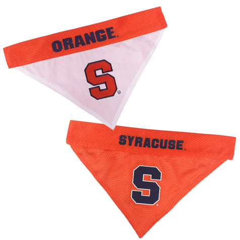 Pets First Syracuse Reversible Bandana for Dogs