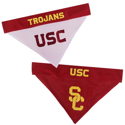 Pets First Usc Reversible Bandana for Dogs