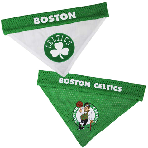 Pets First Boston Celtics Reversible Bandana for Dogs