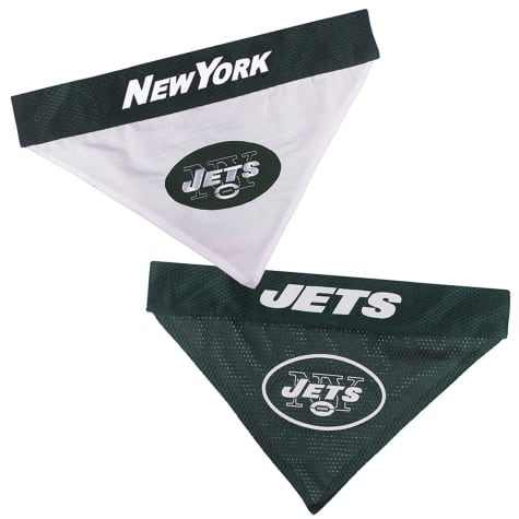 Pets First New York Jets Reversible Bandana for Dogs