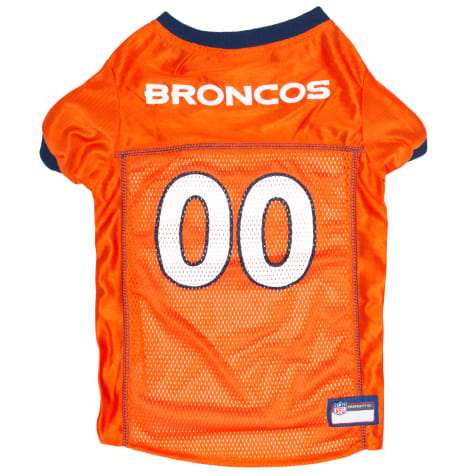 Pets First Denver Broncos Mesh Jersey for Dogs