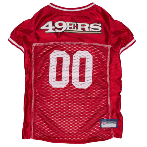Pets First San Francisco 49Ers Mesh Jersey for Dogs