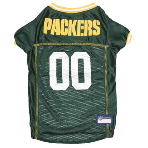 Pets First Green Bay Packers Mesh Jersey for Dogs
