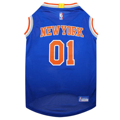 Pets First New York Knicks Basketball Mesh Jersey for Dogs