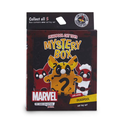 Marvel Deadpool Cat Toys Mystery Box