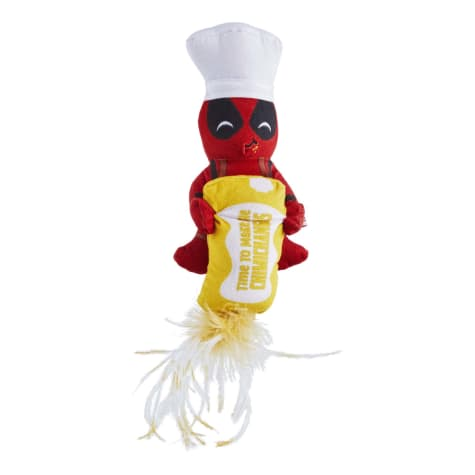 Marvel Cooking with Deadpool Plush Kicker Cat Toy