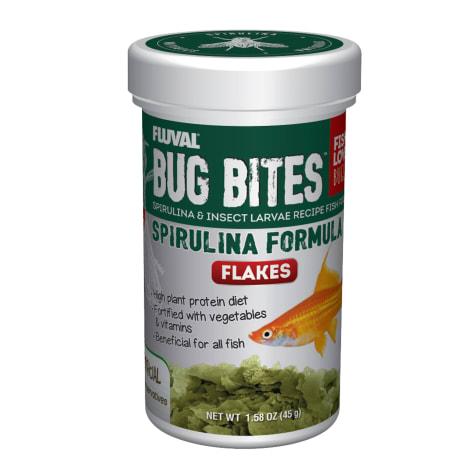 Fluval Bug Bites Spirulina Flakes