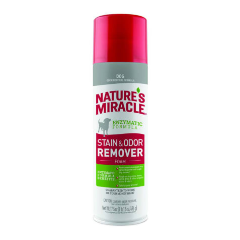 Nature's Miracle Dog Stain & Odor Remover Foam