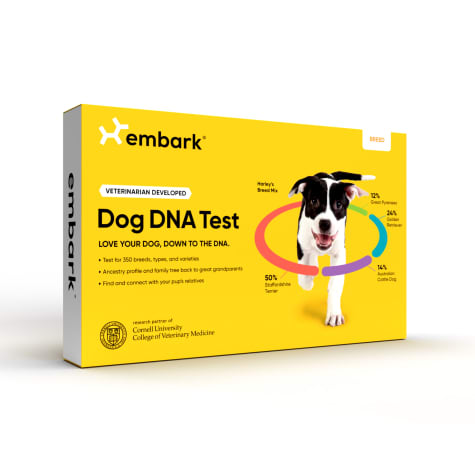 Embark Vet Dog DNA Breed Identification Kit