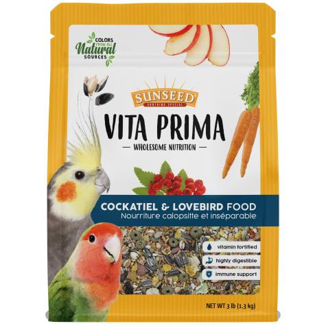 Sun Seed Vita Prima Cockatiel Food