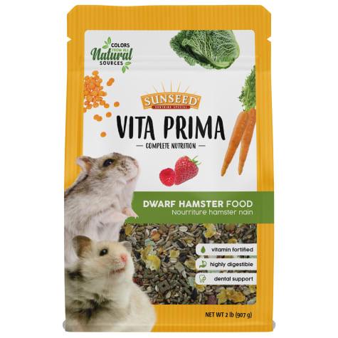 Sun Seed Vita Prima Dwarf Hamster Food