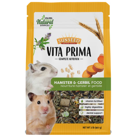 Sun Seed Vita Prima Hamster & Gerbil Food