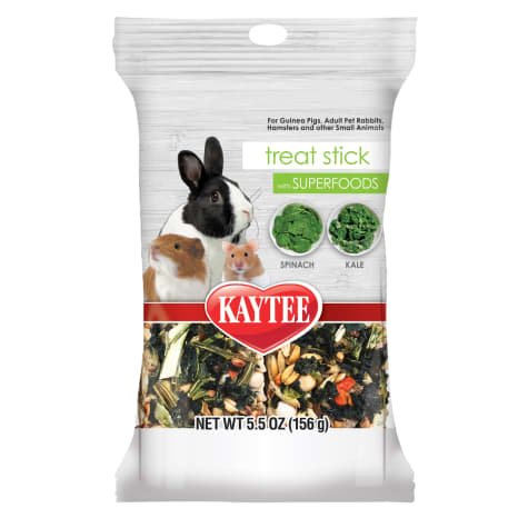 Kaytee Food from the Wild Treat Stick with Superfoods Spinich & Kale
