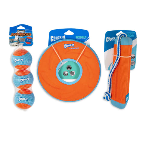 Chuckit! Amphibious Fetch Kit Dog Toys