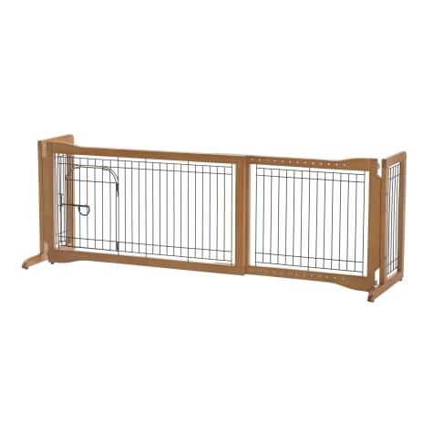 Richell Pet Sitter Freestanding Gate Plus