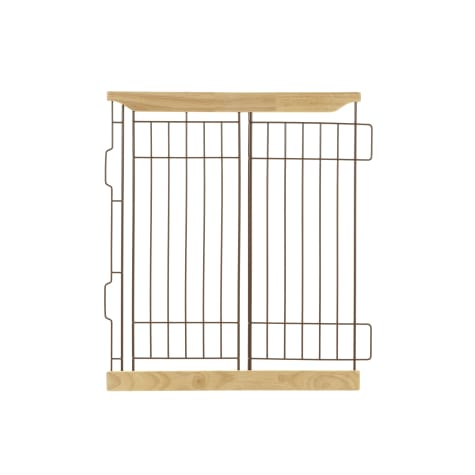 Richell Expandable Pet Crate Divider in Natural