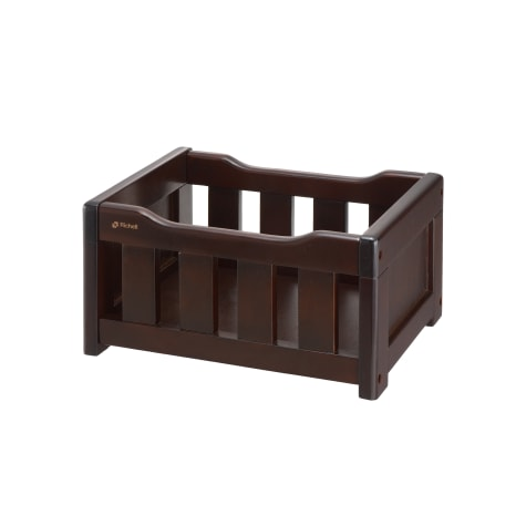 Richell Elegant Wooden Toy Box for Dogs