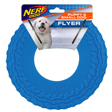 Nerf Blue TPR Tire Flyer Dog Toy